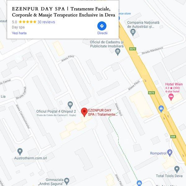 Ezenpur Day Spa in Deva | Harta Google